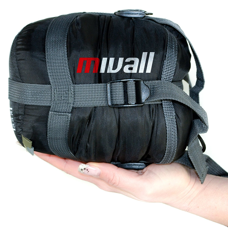 Mivall ultraleichter warmer Sommerschlafsack - Schlafsack 720g